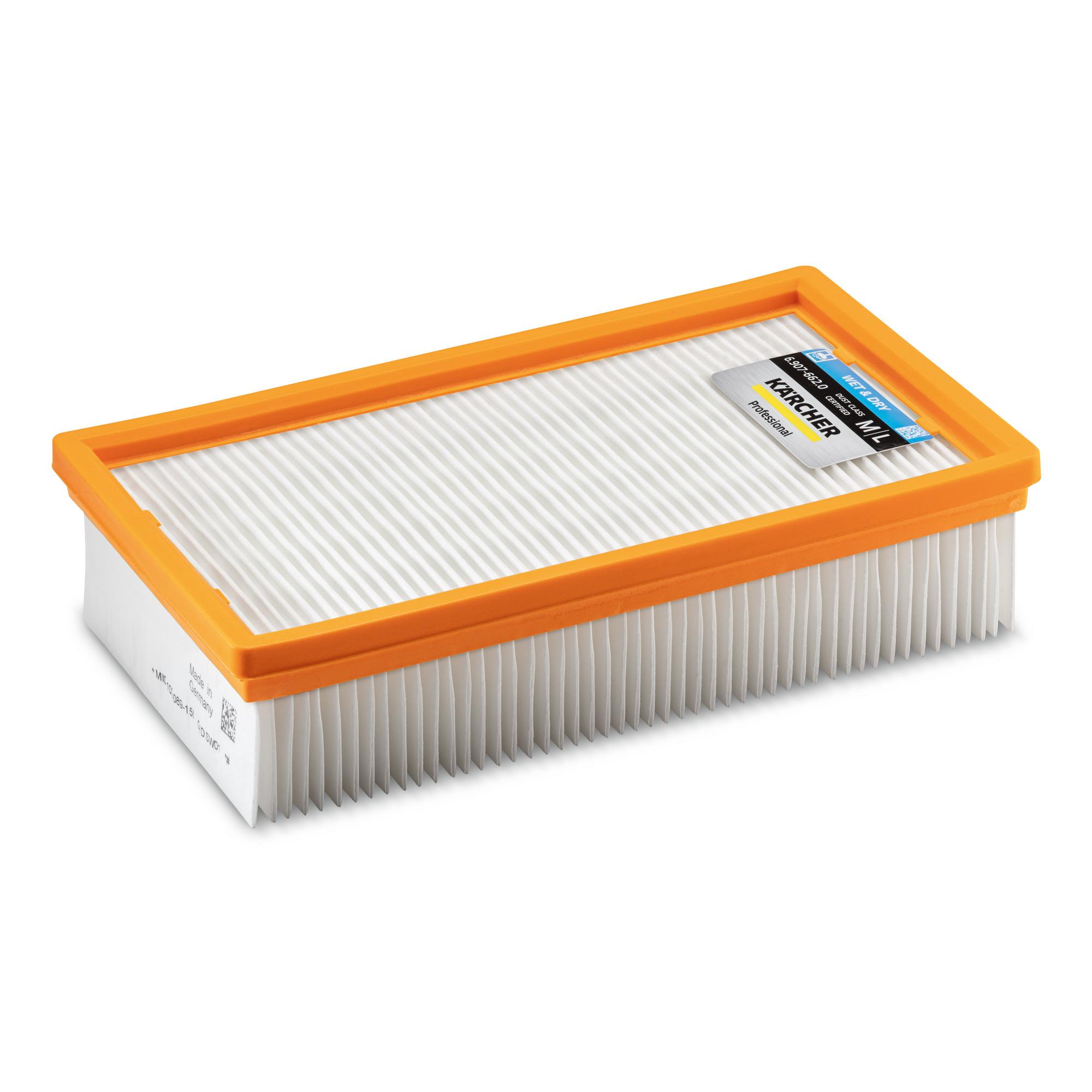 Flat-pleated filter packaged PES 6.907-662.0 KARCHER